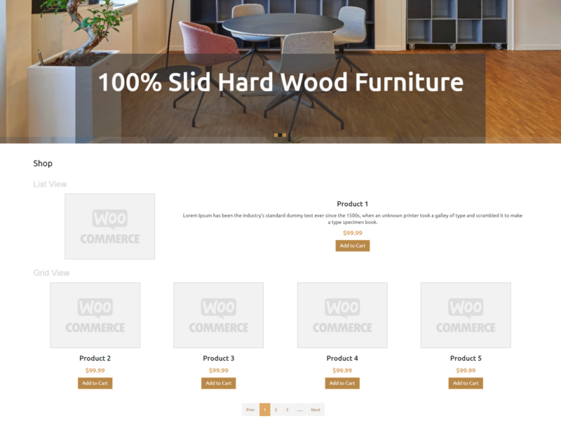 Everyday Furniture WooCommerce Webshop Theme