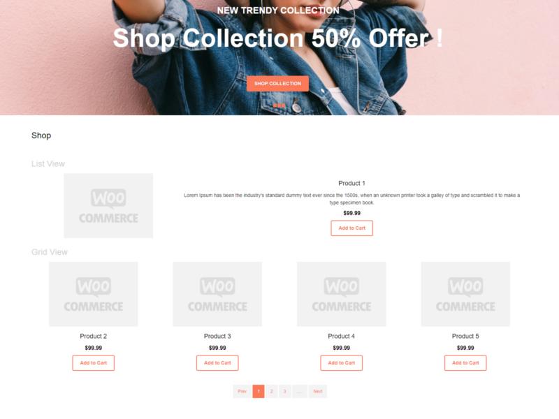 Forever Fashion WooCommerce Webshop Theme
