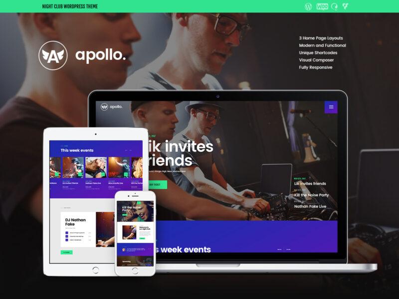 Nachtclub & Diskotheken Website
