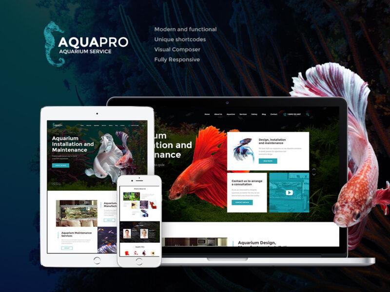Aquarienhandel Website