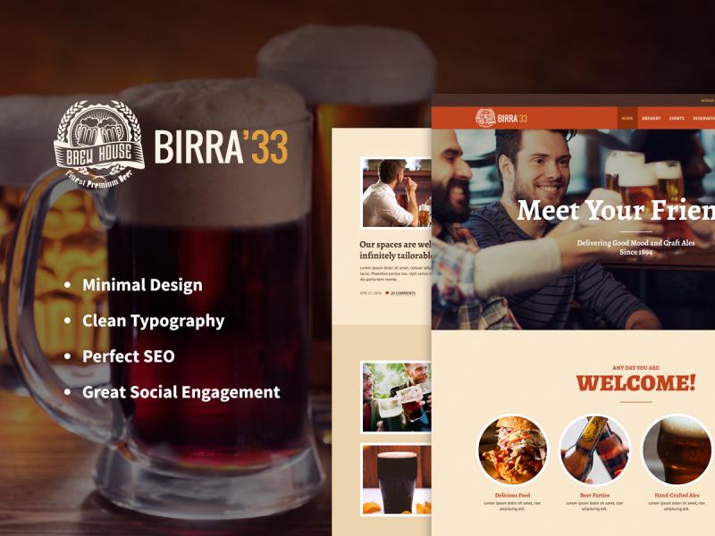 Brauerei Website