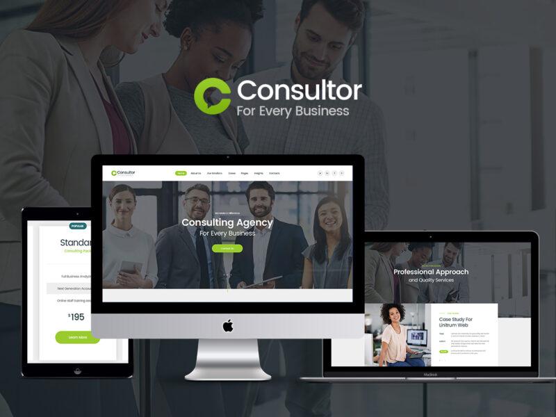 Business & Berater Website