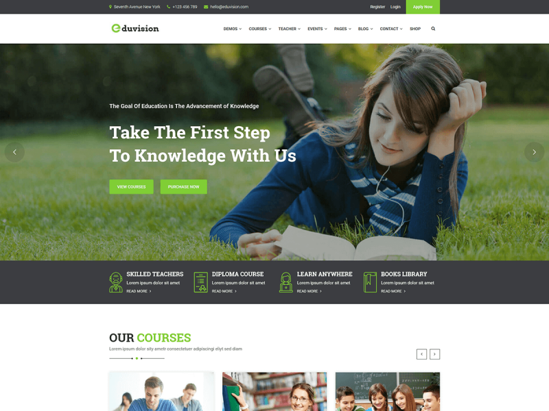Online Kurse Website