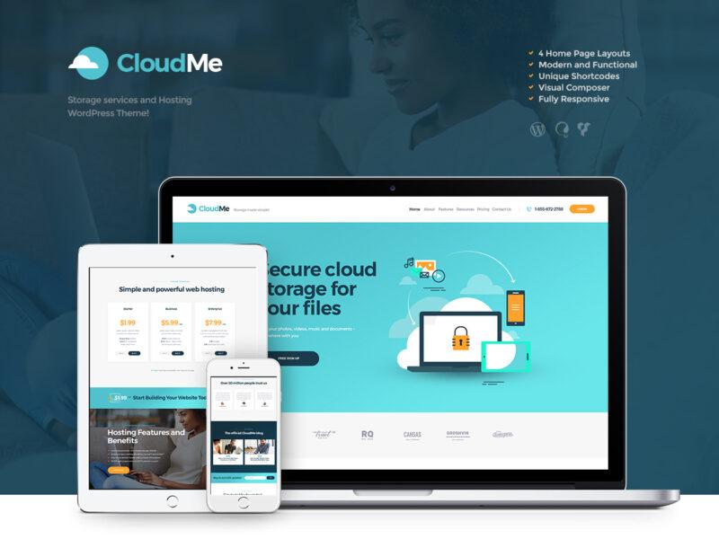 Webhoster Website
