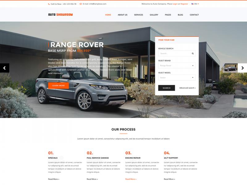 Autohandel Website
