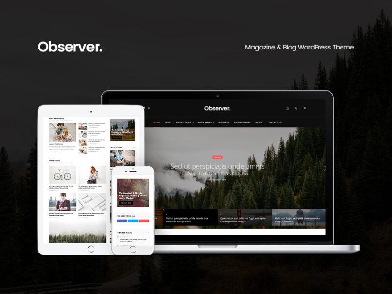 Business & Magazin Website