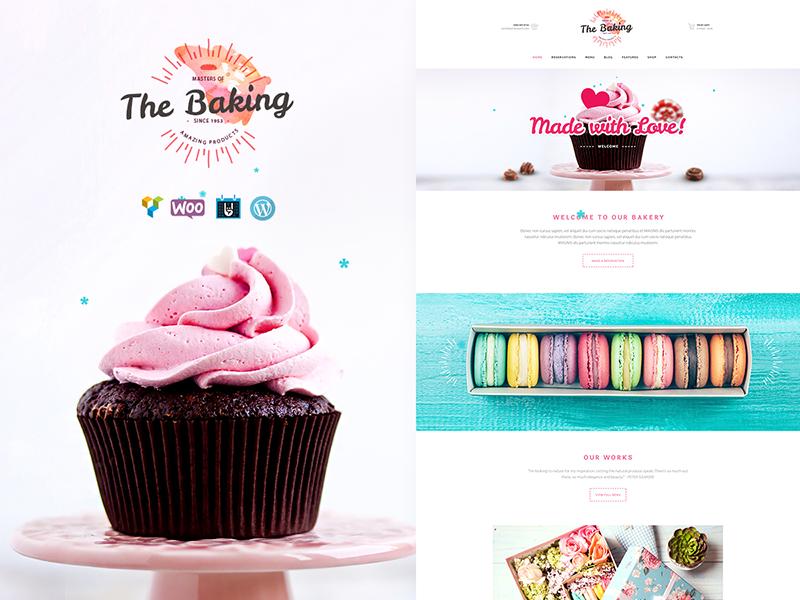 Bäckerei & Konditorei Website