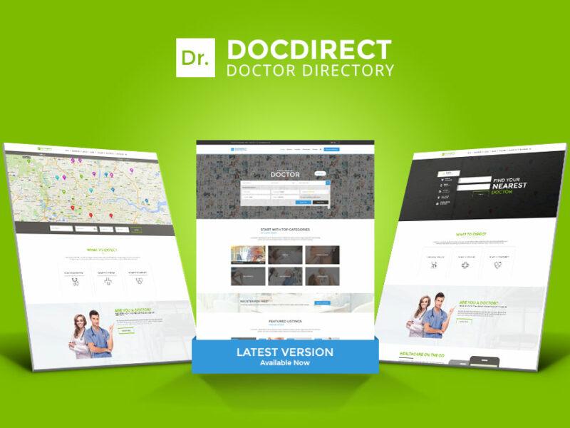 Arztportal Website