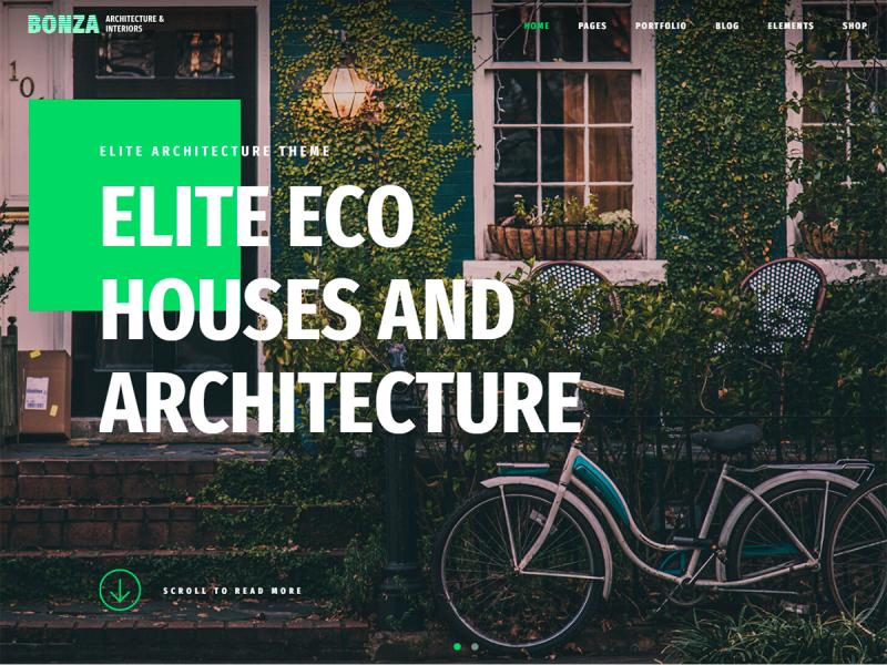 Architekten & Innenarchitekten Website