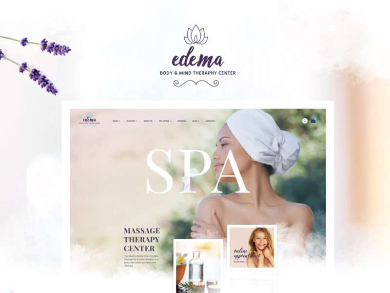 Wellness & Spa Website