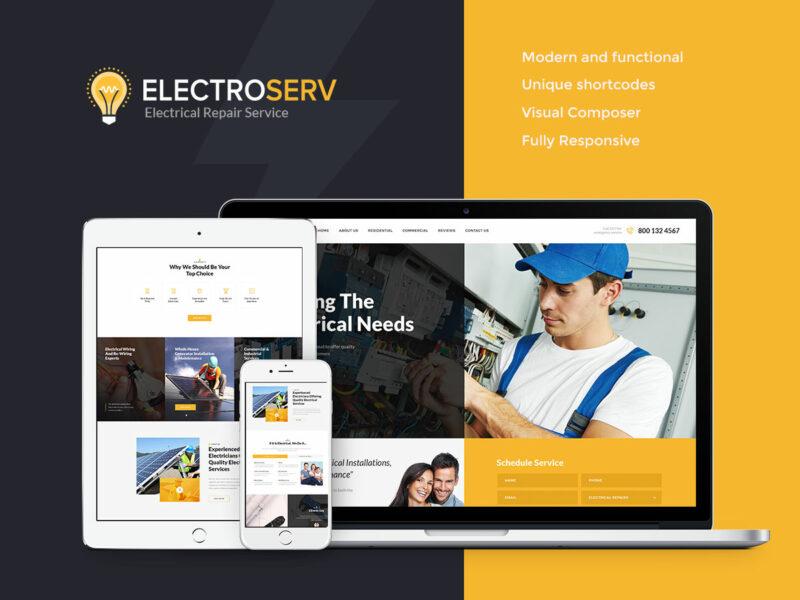 Elektriker Website