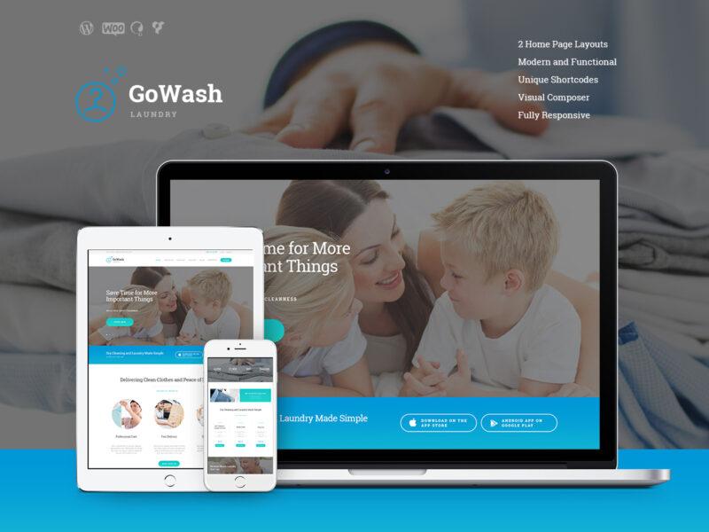 Wäscherei & Reinigungsservice Website