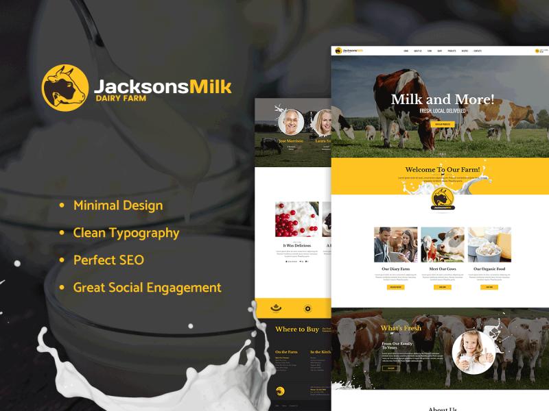 Milchbauer Website