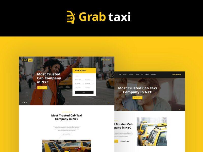 Taxizentrale Website