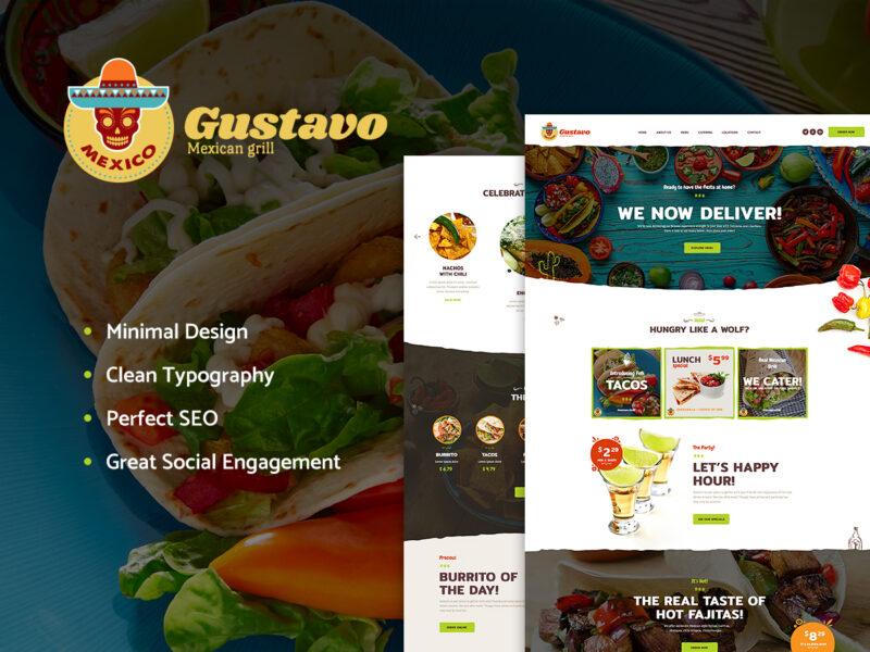 Mexikanisches Restaurant Website