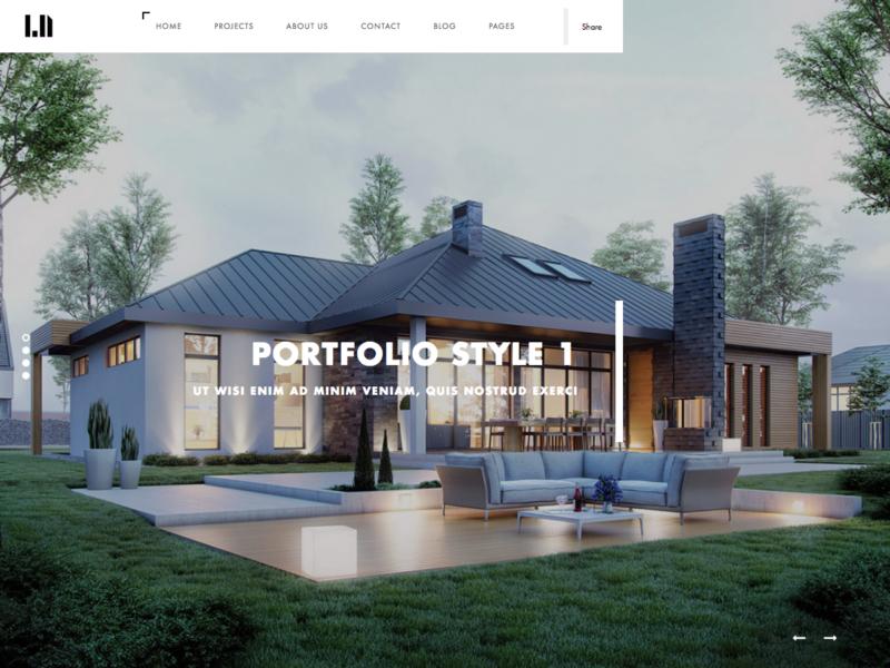 Architekten Website