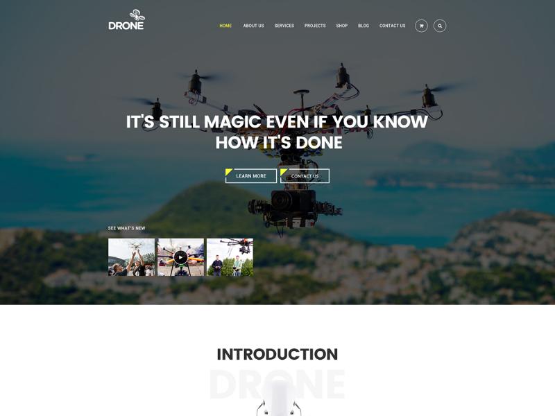 Drohnenanbieter Website
