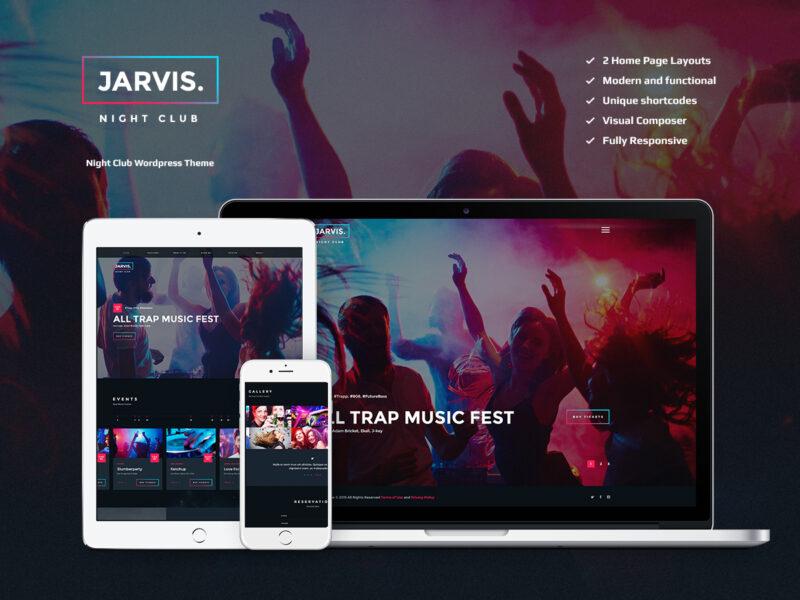 Nachtclub Website