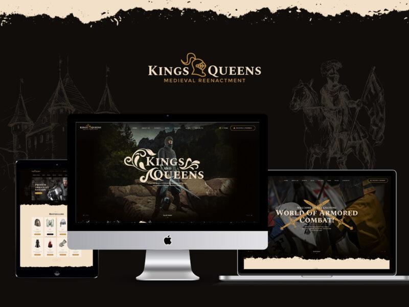 Historical Reenactment Website