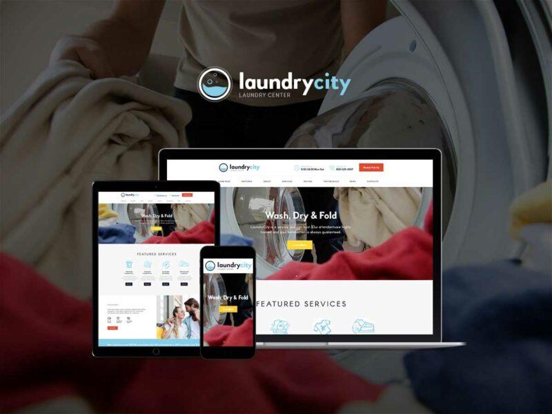 Reinigungsunternehmen Website