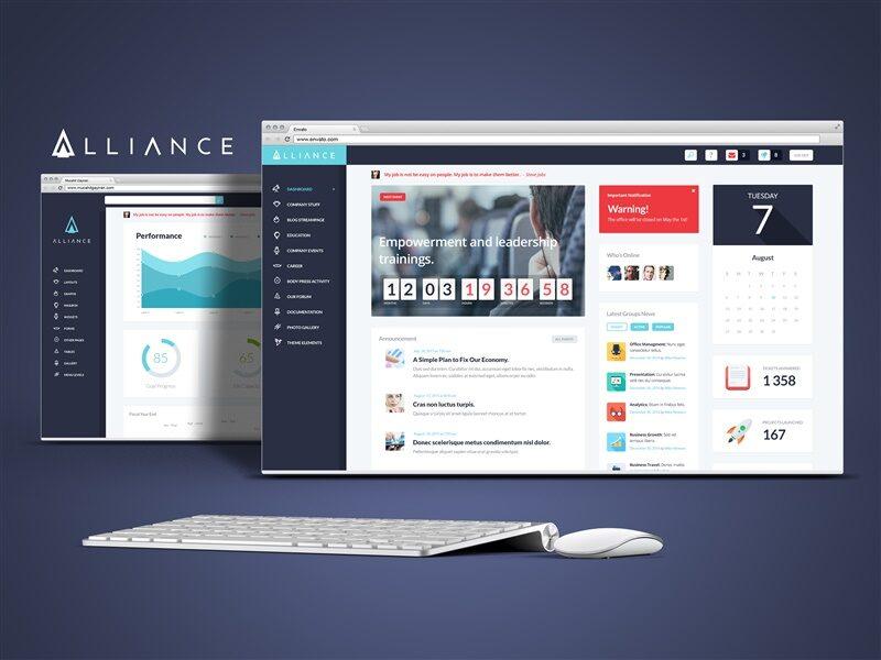 Intranet & Extranet Website