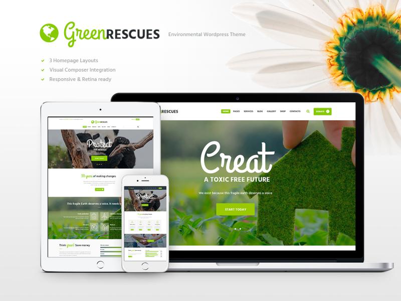 Umweltschutzorganisation Website