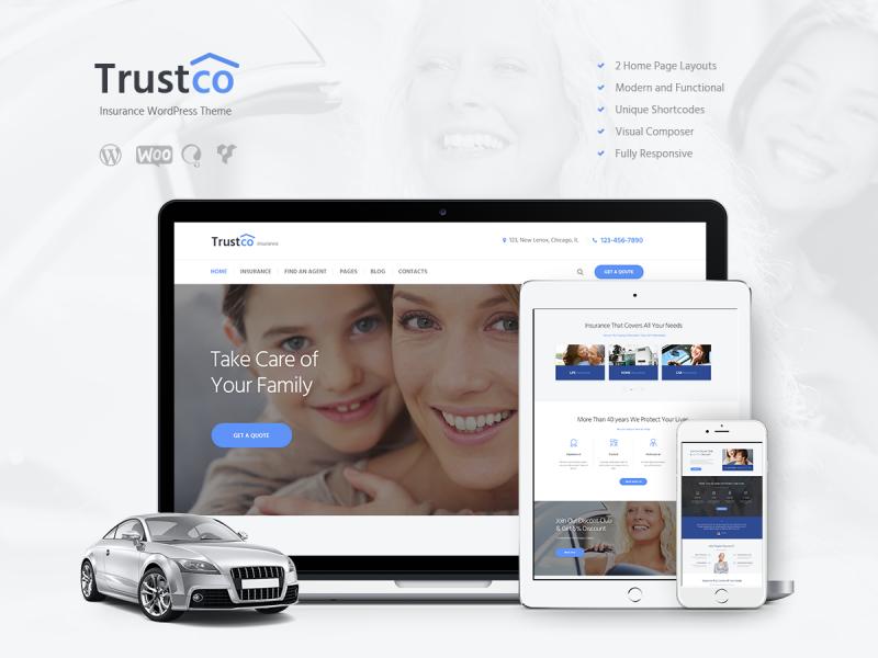Versicherungsmakler Website