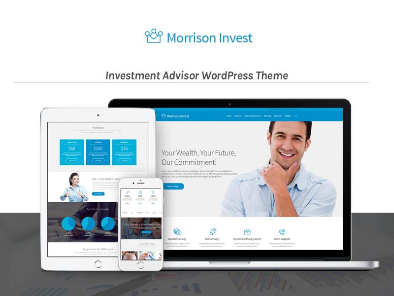 Investment Berater Website