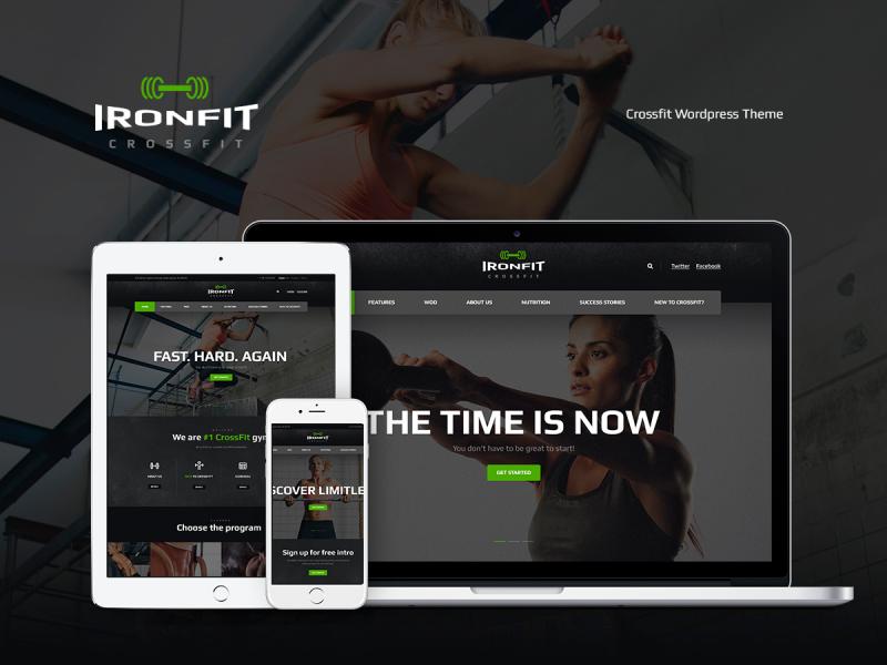 Fitnessstudio Website