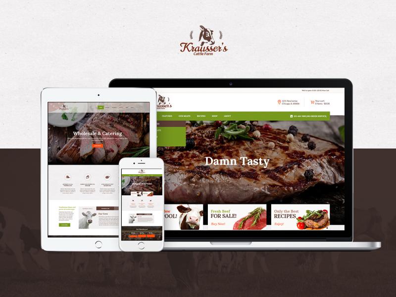 Rinderfarm Website