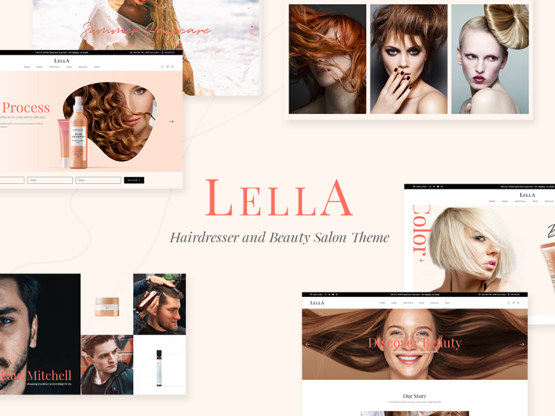 Friseur & Beauty Salon Website