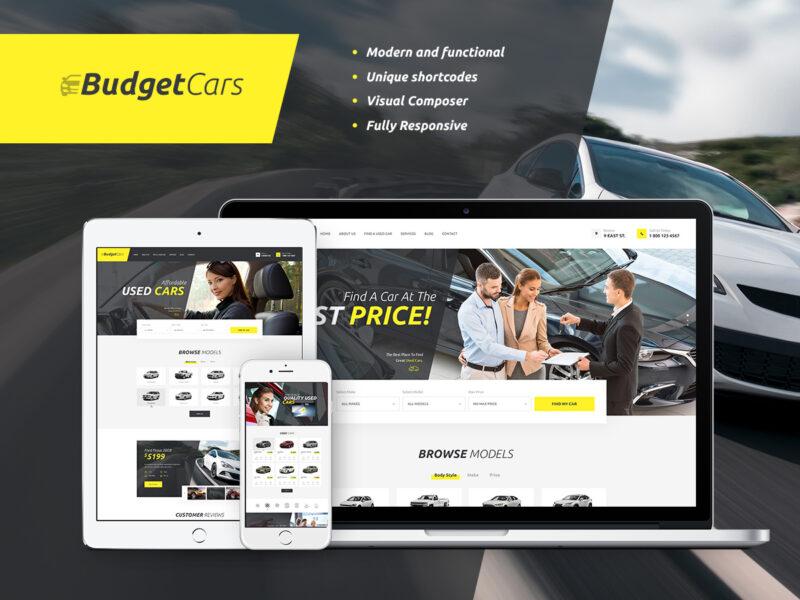 Automobilhändler Website