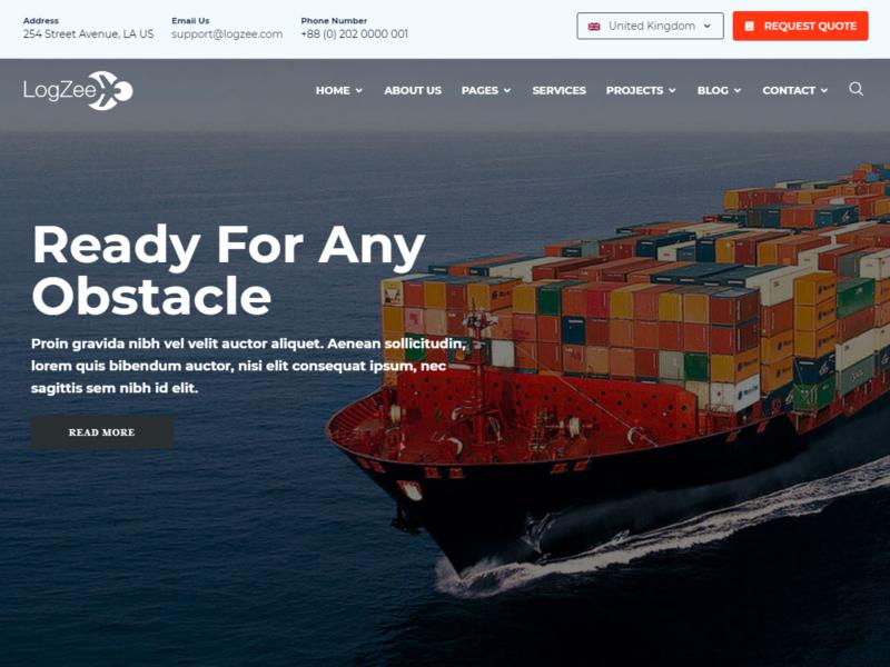 Logistik & Transport Website