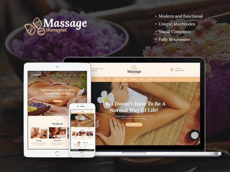 Masseur & Wellness Website