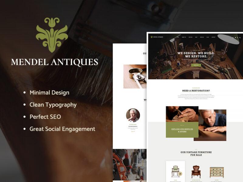Antiquitäten Website