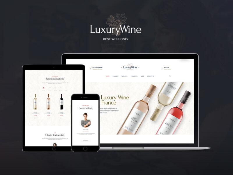 Wein & Winzer Website